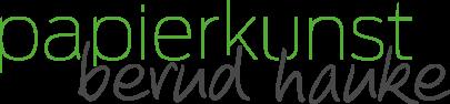 Logo Papierkunst Bernd Hanke